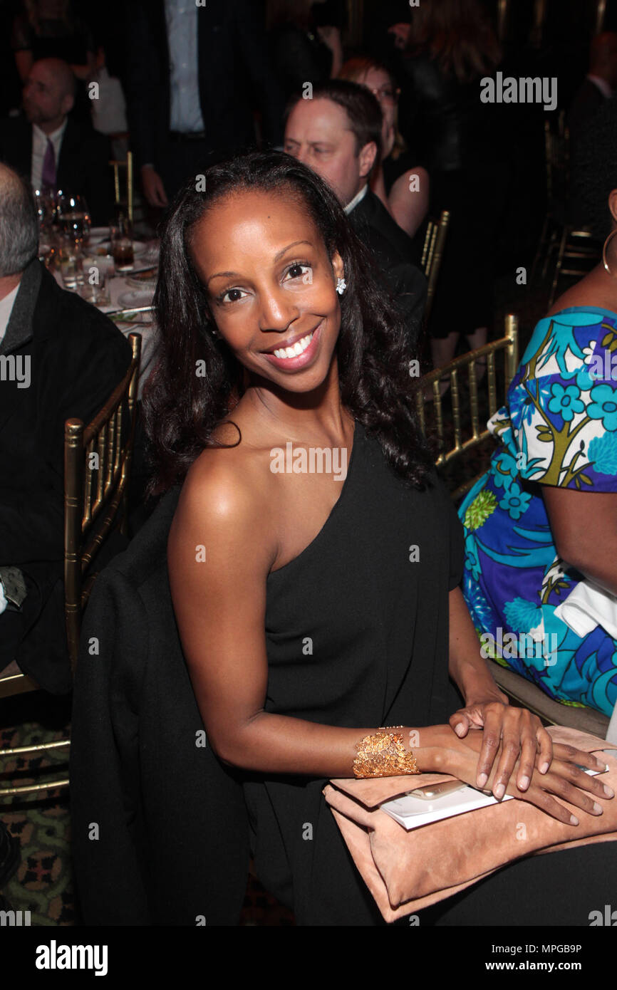 New York, NY, USA. 22nd May, 2018. Author/Arts Educator Sarah Elizabeth Lewis attends the Gordon Parks Foundation Awards Dinner & Auctionn: Celebrating the Arts & Humanitarianism held at Cipriani 42nd Street on May 22, 2018 in New York City. Credit: Mpi43/Media Punch/Alamy Live News - Stock Image