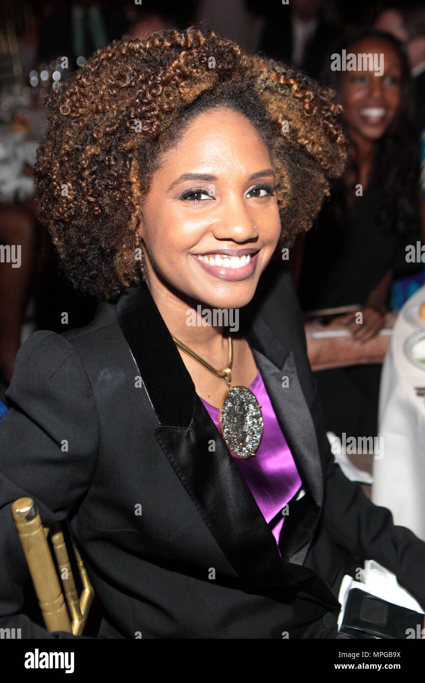 New York, NY, USA. 22nd May, 2018. Author/Arts Educator LaToya Ruby Frazier attends the Gordon Parks Foundation Awards Dinner & Auctionn: Celebrating the Arts & Humanitarianism held at Cipriani 42nd Street on May 22, 2018 in New York City. Credit: Mpi43/Media Punch/Alamy Live News - Stock Image