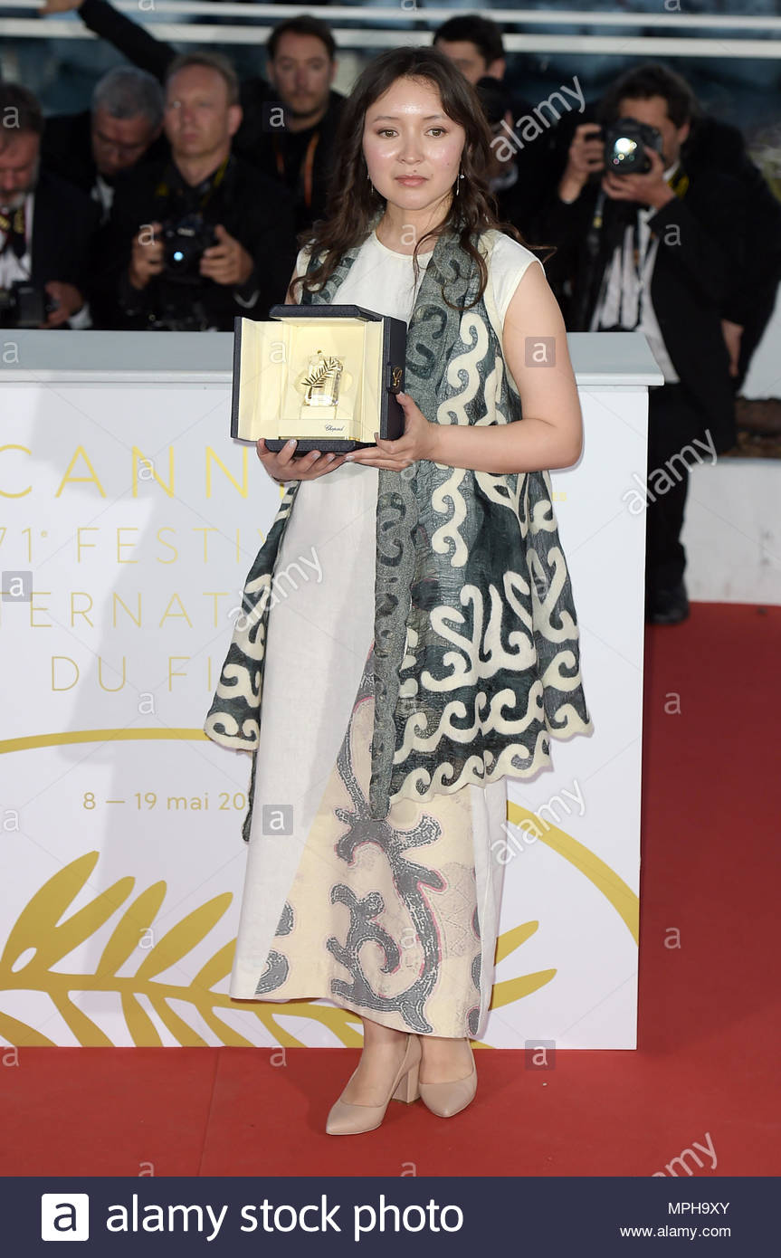 samal yeslyamova, best actress award for her role in ayka