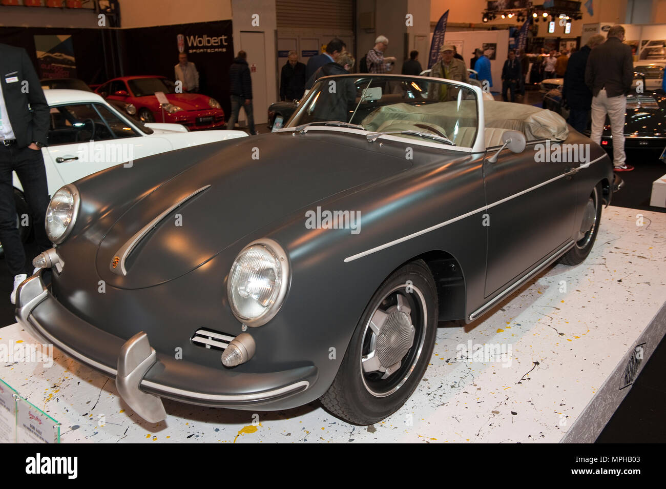 Porsche 356 Roadster Hedonic, modified engine,  | Porsche 356 Roadster Hedonic - Stock Image