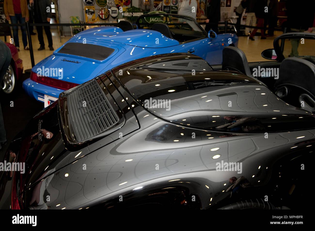 Porsche 911 Speedster; 964 speedster; black; two seater; shorter ...