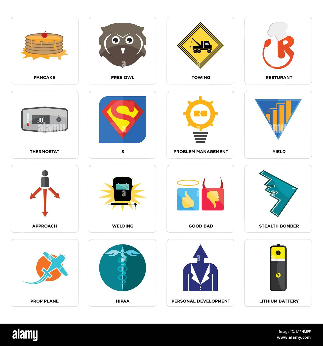 Set Of 16 Simple Editable Icons Such As Lithium Battery Personal