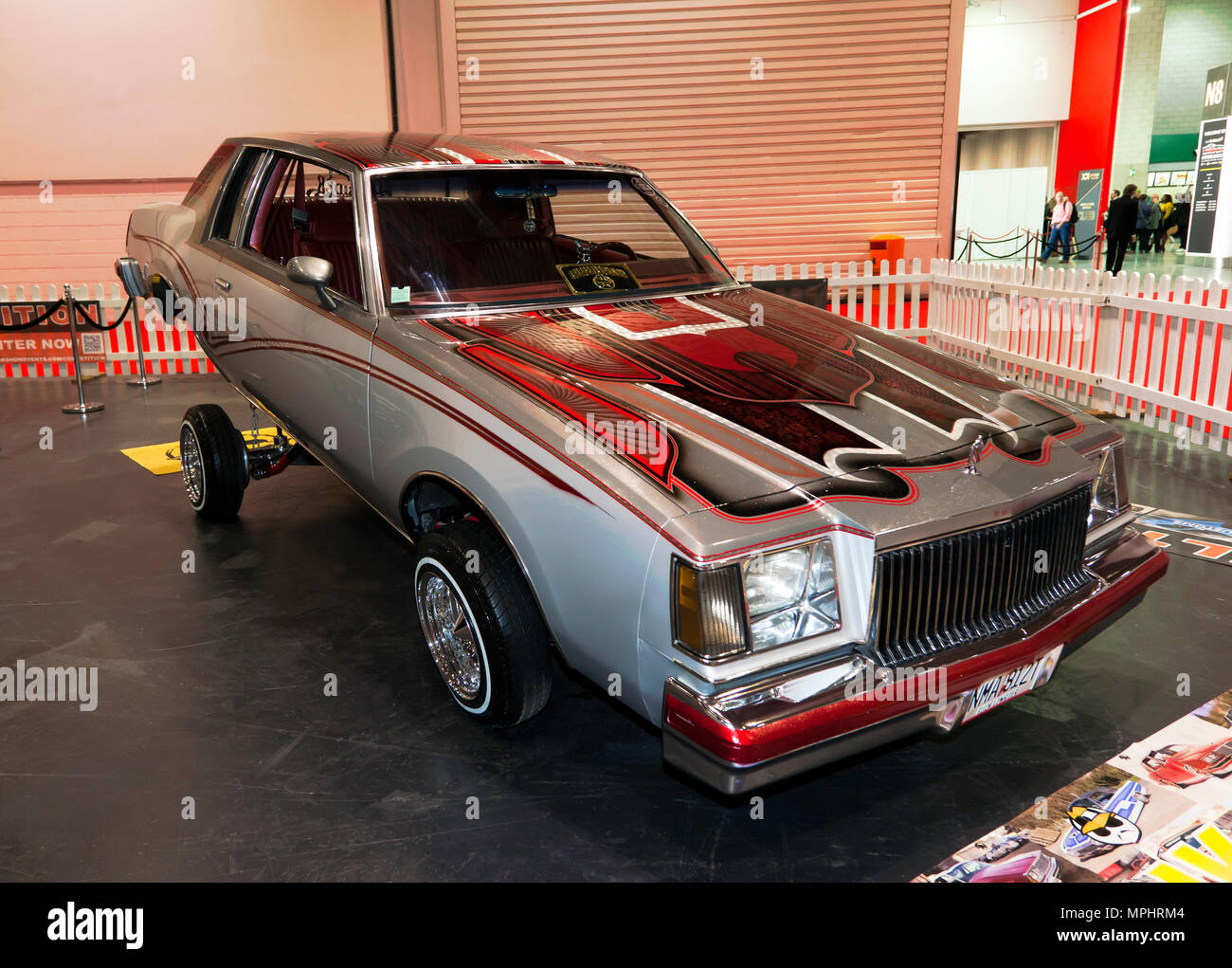 "A Buick Low Rider, on display in the ""Big Zone"", of the 2018  London Motor Show Stock Photo"