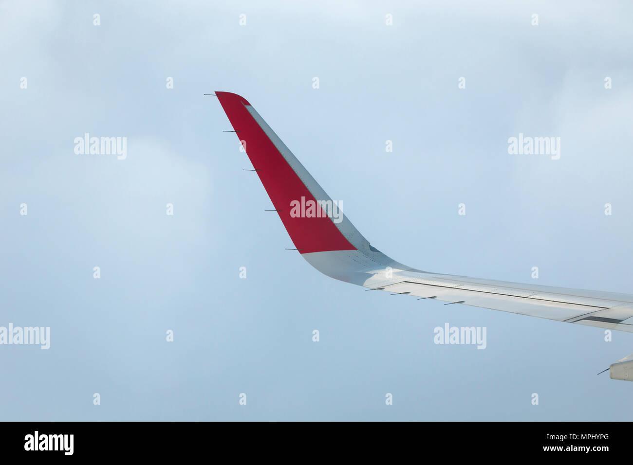 Airasia winglet, Indonesia - Stock Image