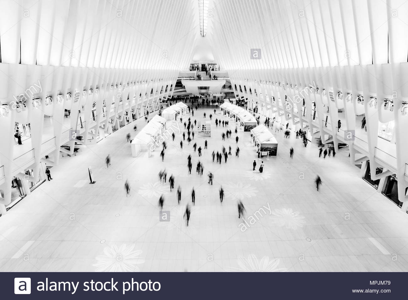 9/11 Memorial Station NYC - Stock Image