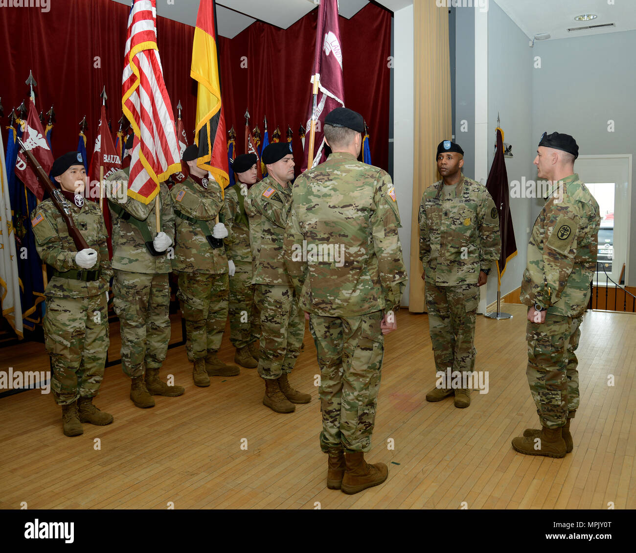 regional medical center change of responsibility ceremony march 17 2017 landstuhl germany us army photo by visual information specialist