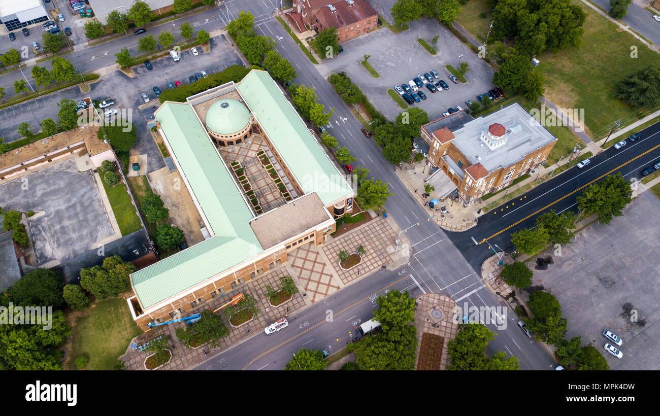 Birmingham Civil Rights Institute, and the Sixteenth Street Baptist Church, Birmingham, Alabama, USA Stock Photo