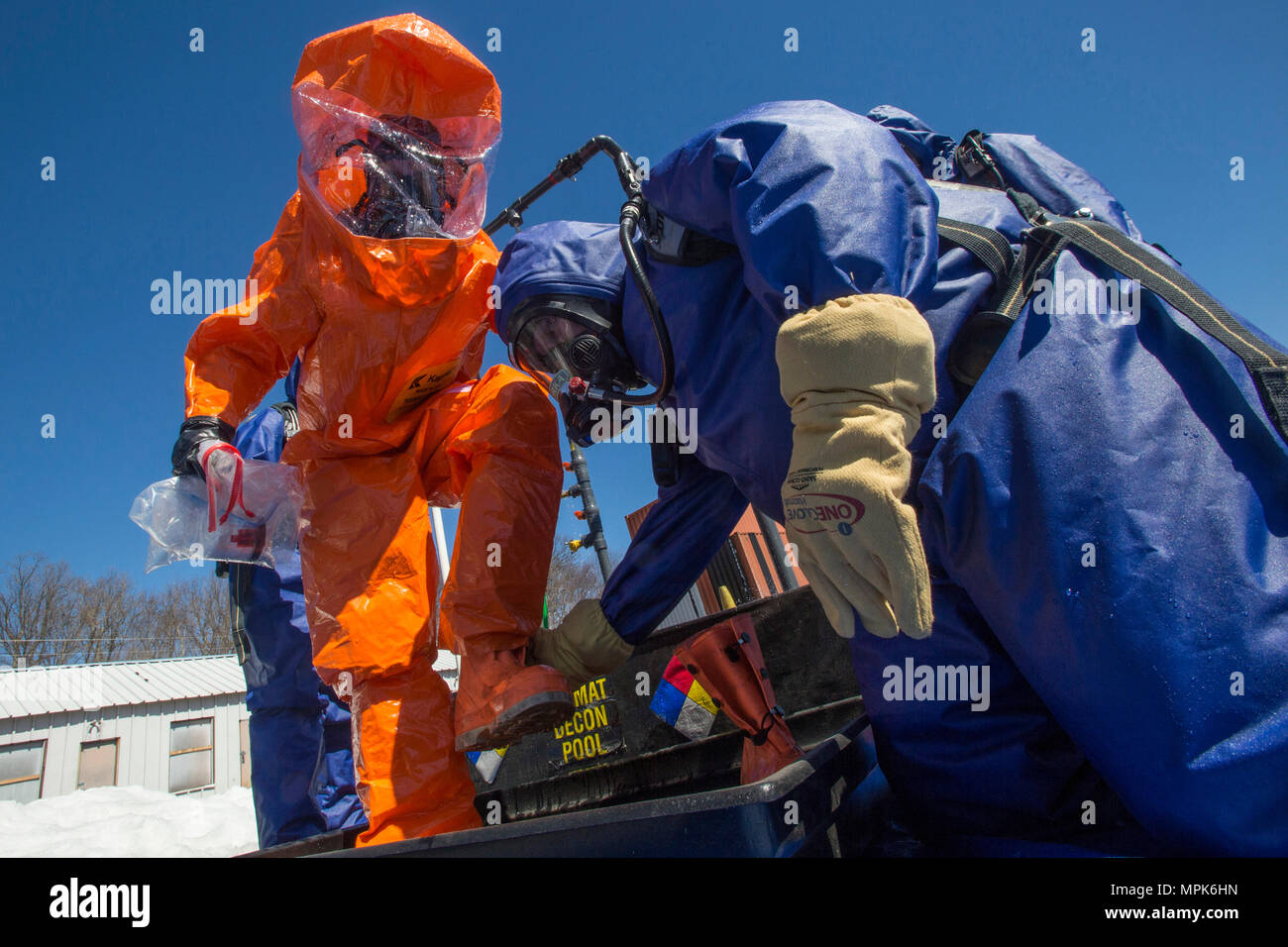 Level A Protective Suit Stock Photos & Level A Protective