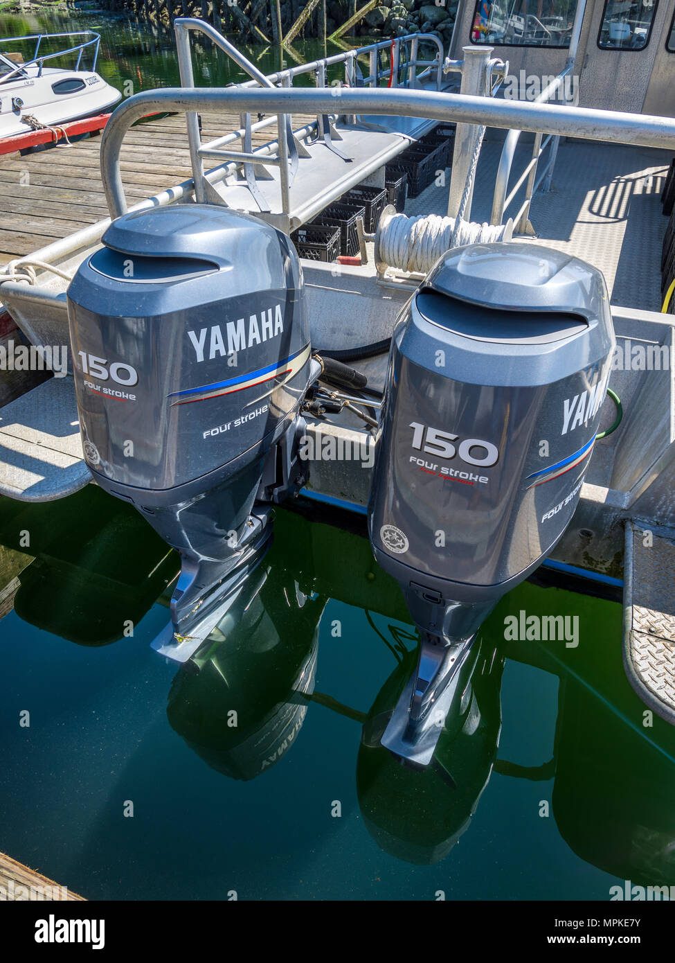 Used Yamaha Outboard Motors For Sale Bc