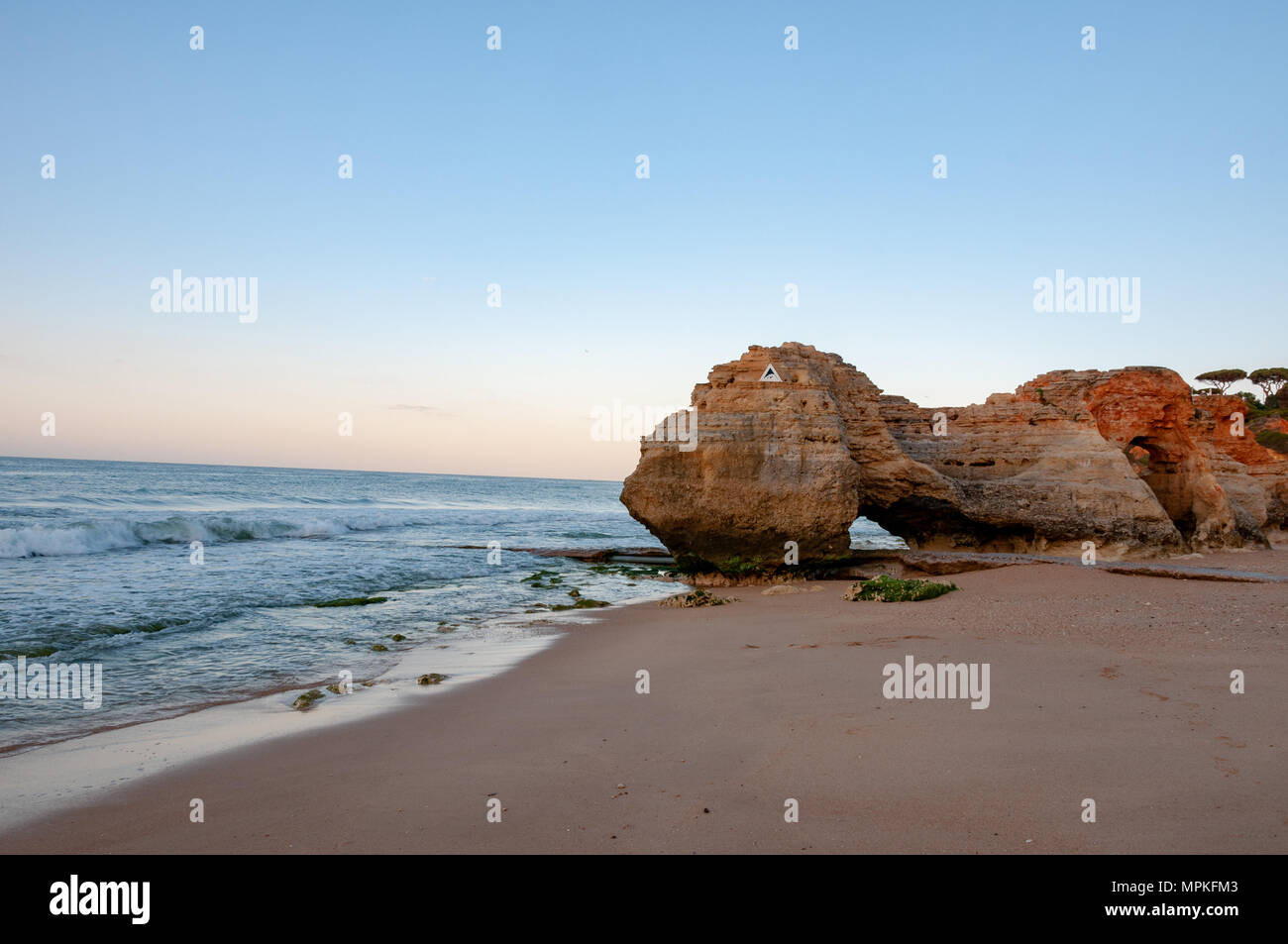 Olhos de Água Rock Formation - Stock Image