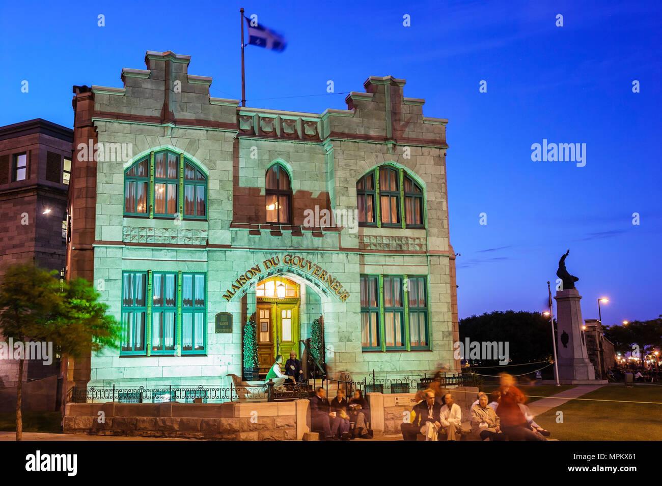 Montreal Canada Rue De Lorimier La Maison Du Gouverneur Governor Built 1895  Former Prison Now Wine Cellar