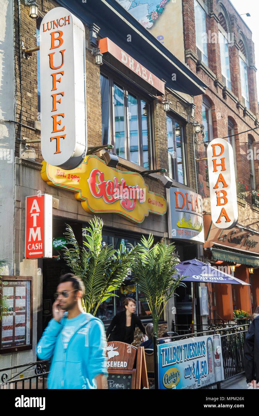 Sidewalk Cafe Restaurant Dine Dining Eat Eating Stock