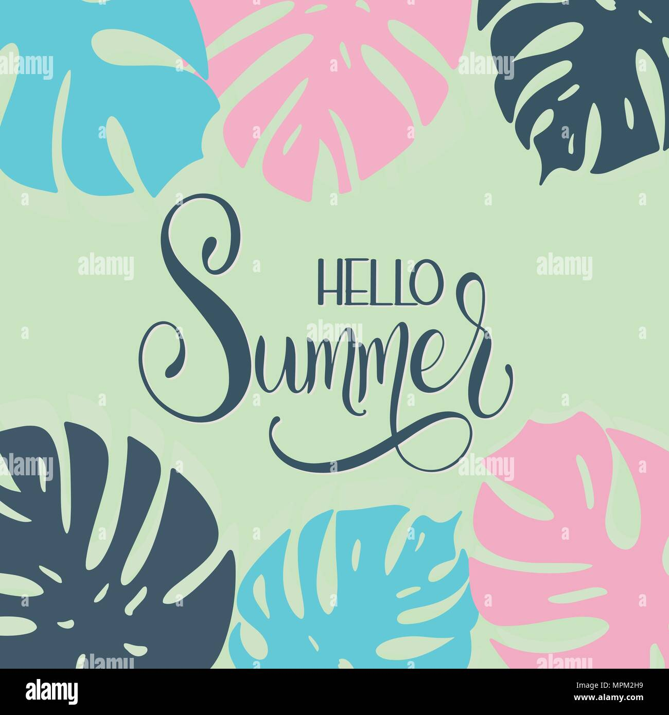 Hello summer lettering elements for invitations posters greeting hello summer lettering elements for invitations posters greeting cards seasons greetings m4hsunfo