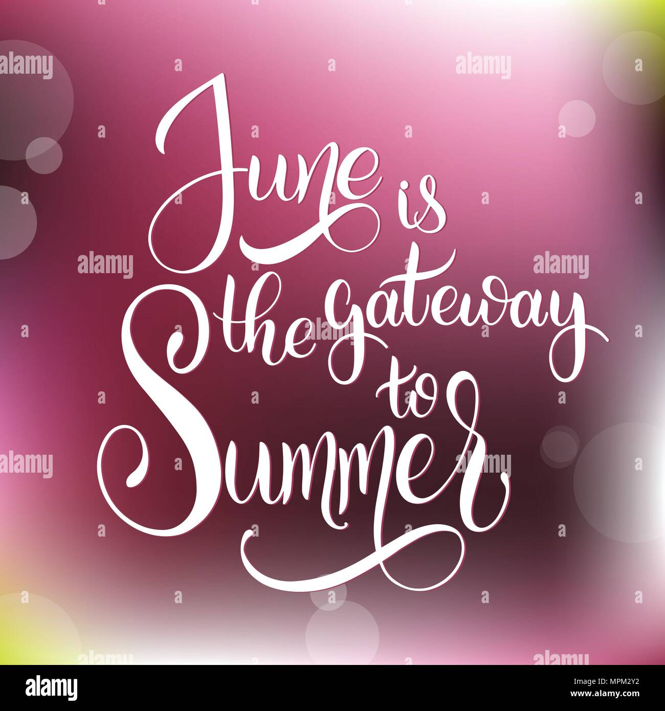Hello june lettering elements for invitations posters greeting hello june lettering elements for invitations posters greeting cards seasons greetings m4hsunfo