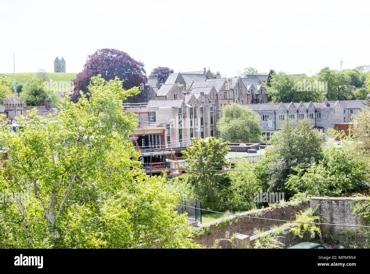 King's School, Bruton, Somerset, England, UK - Stock Image