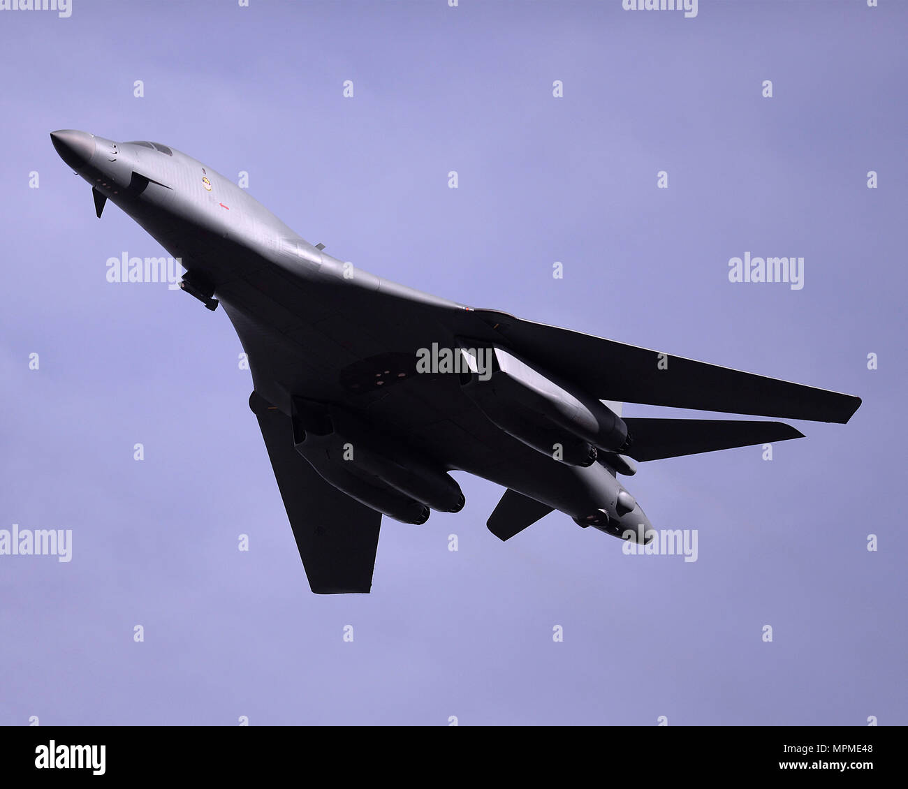 Dyess Air Show 2020.A B 1b Lancer From Dyess Afb Tx Flies Over The U S Air