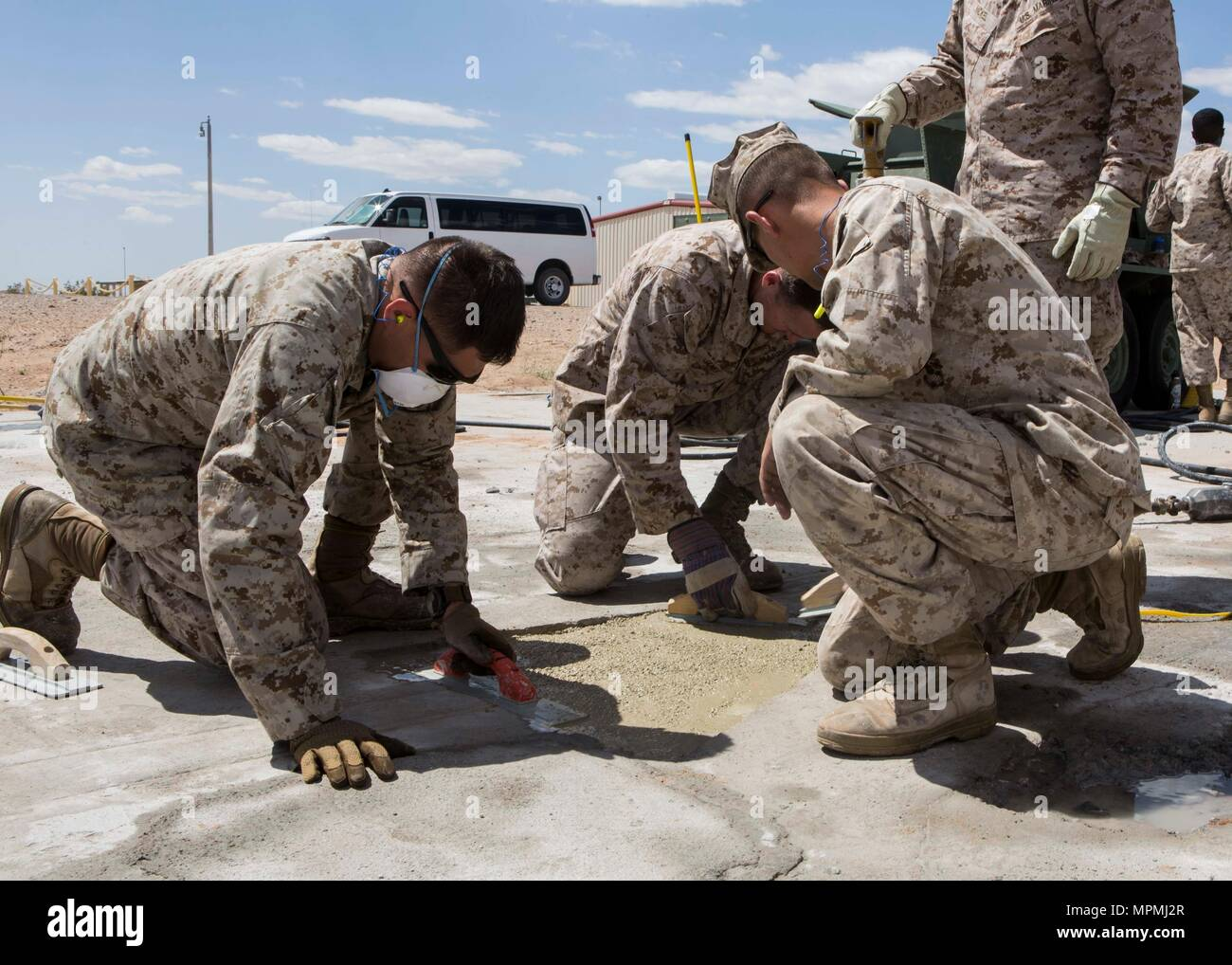 U S  Marines attending Weapons and Tactics Instructor Course