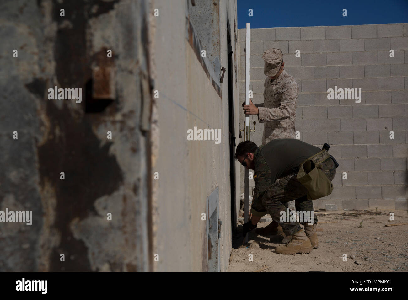 A U.S. Marine assigned to Special Purpose Marine Air Ground Task Force-Crisis Response- & Breaching Door Stock Photos \u0026 Breaching Door Stock Images - Alamy
