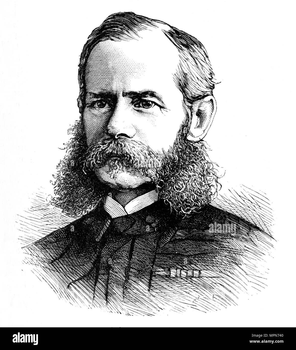 'General (afterward Lord) Roberts, V.C.', c1880. Artist: Unknown. - Stock Image