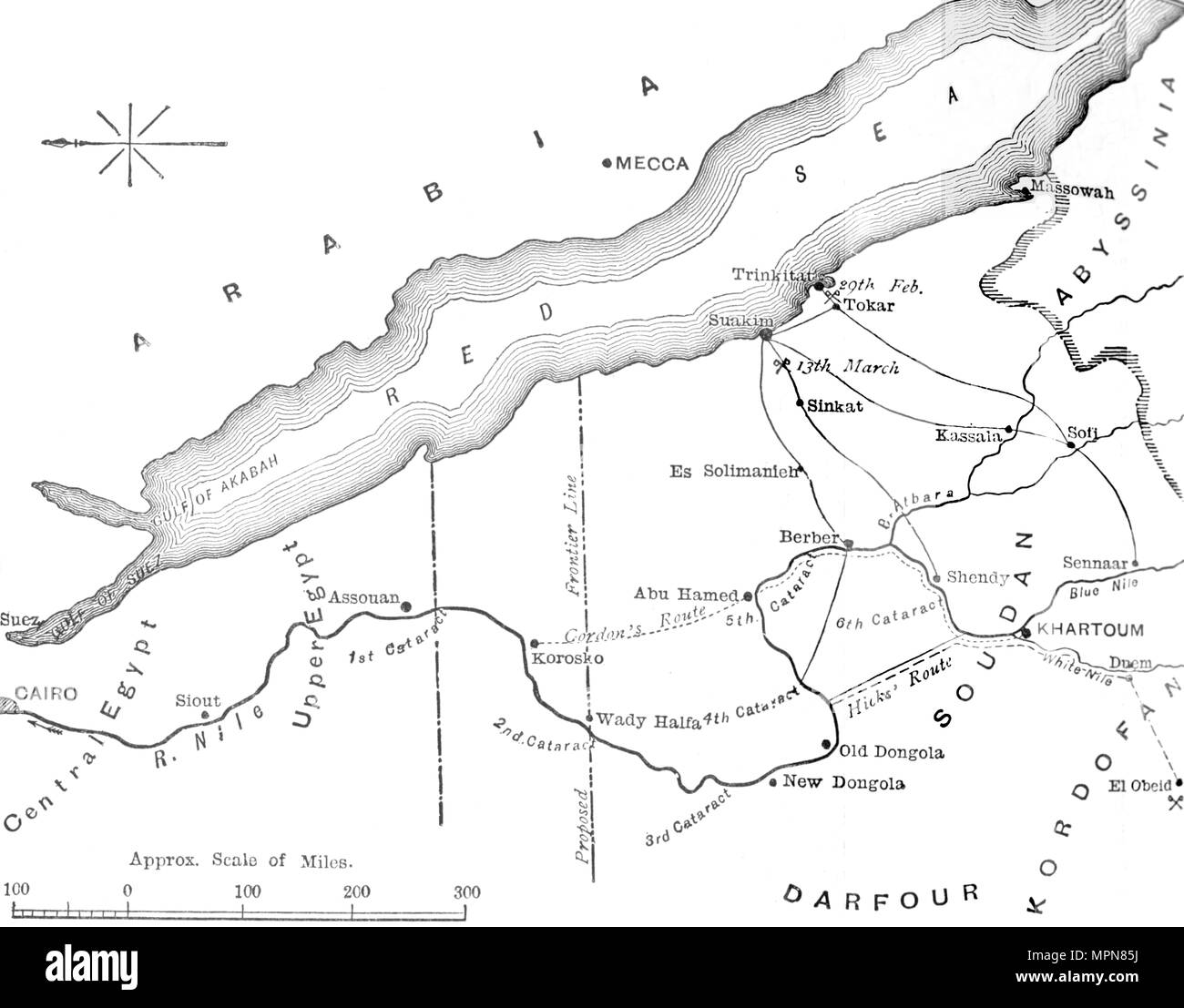 Map of the Country Between Egypt and the Soudan', c1881-85 ... Map Of Mizraim on map of dumah, map of magog, map of shinar, map of togarmah, map of hebrews, map of ishmaelites, map of cush, map of michmash, map of kingdom of kush, map of moreh, map of ham, map of aroer, map of japheth, map of aram, map of shem, map of nahor,