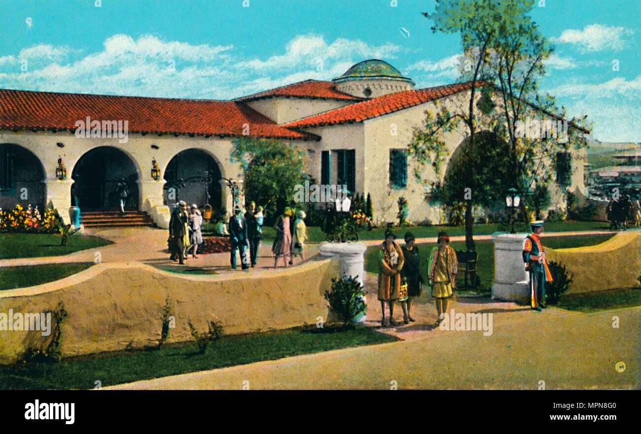 'The Casino, Agua Caliente', c1939. Artist: Unknown. - Stock Image