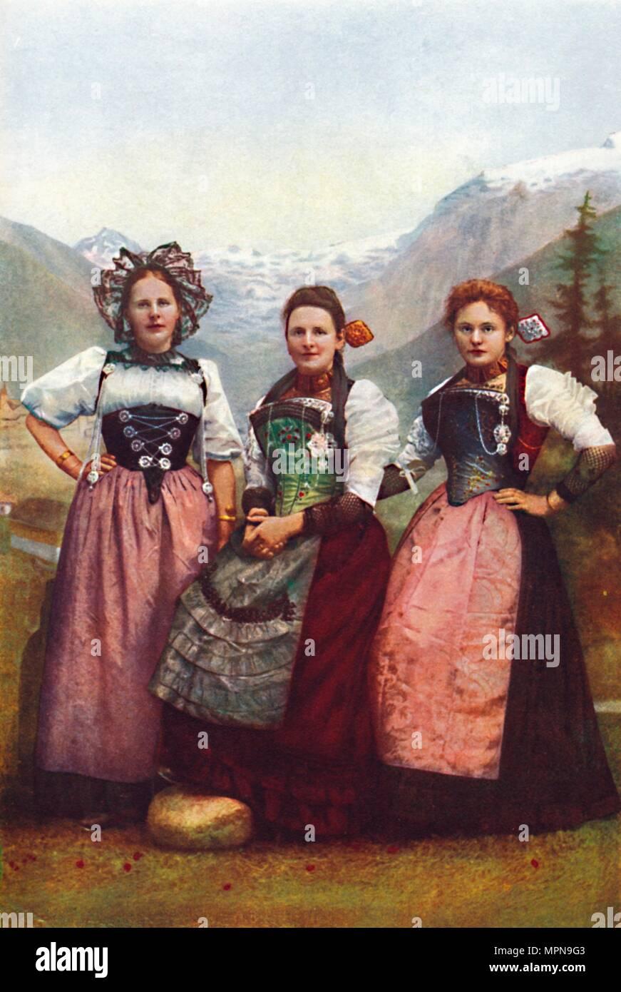 swiss girl traditional dress stock photos swiss girl traditional