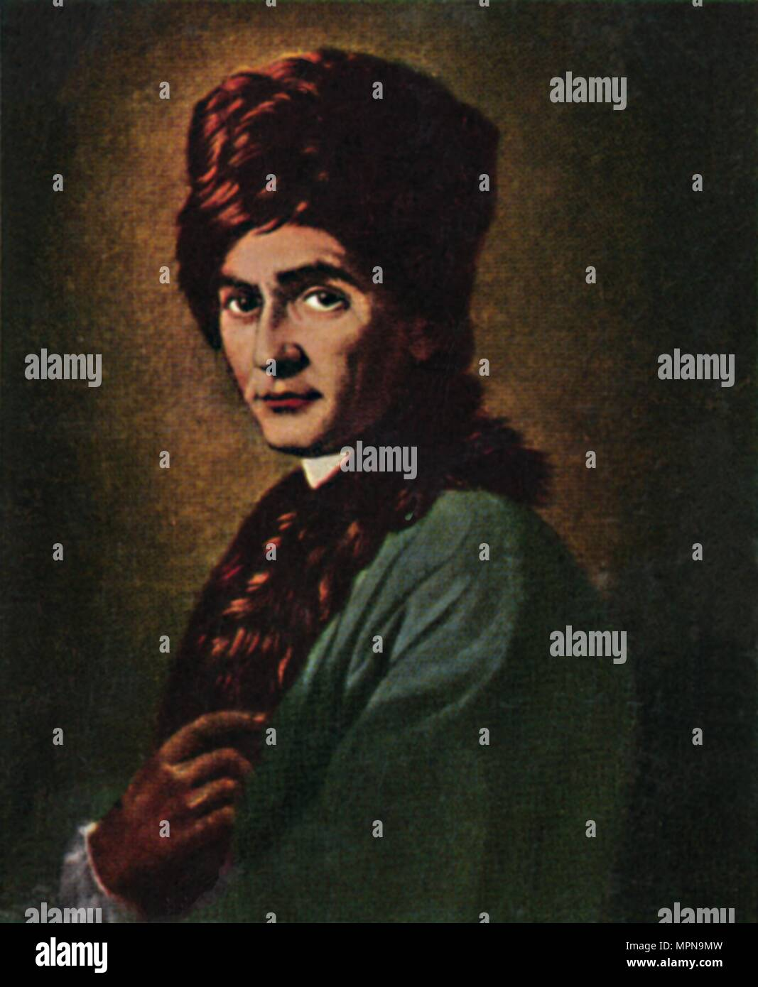'Jean Jacques Rousseau 1712-1778', 1934. Artist: Unknown. - Stock Image
