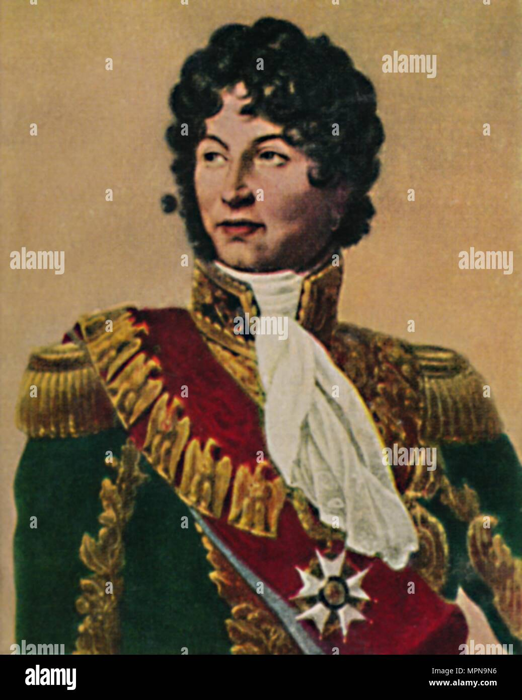 'Murat 1767-1815', 1934. Artist: Unknown. - Stock Image