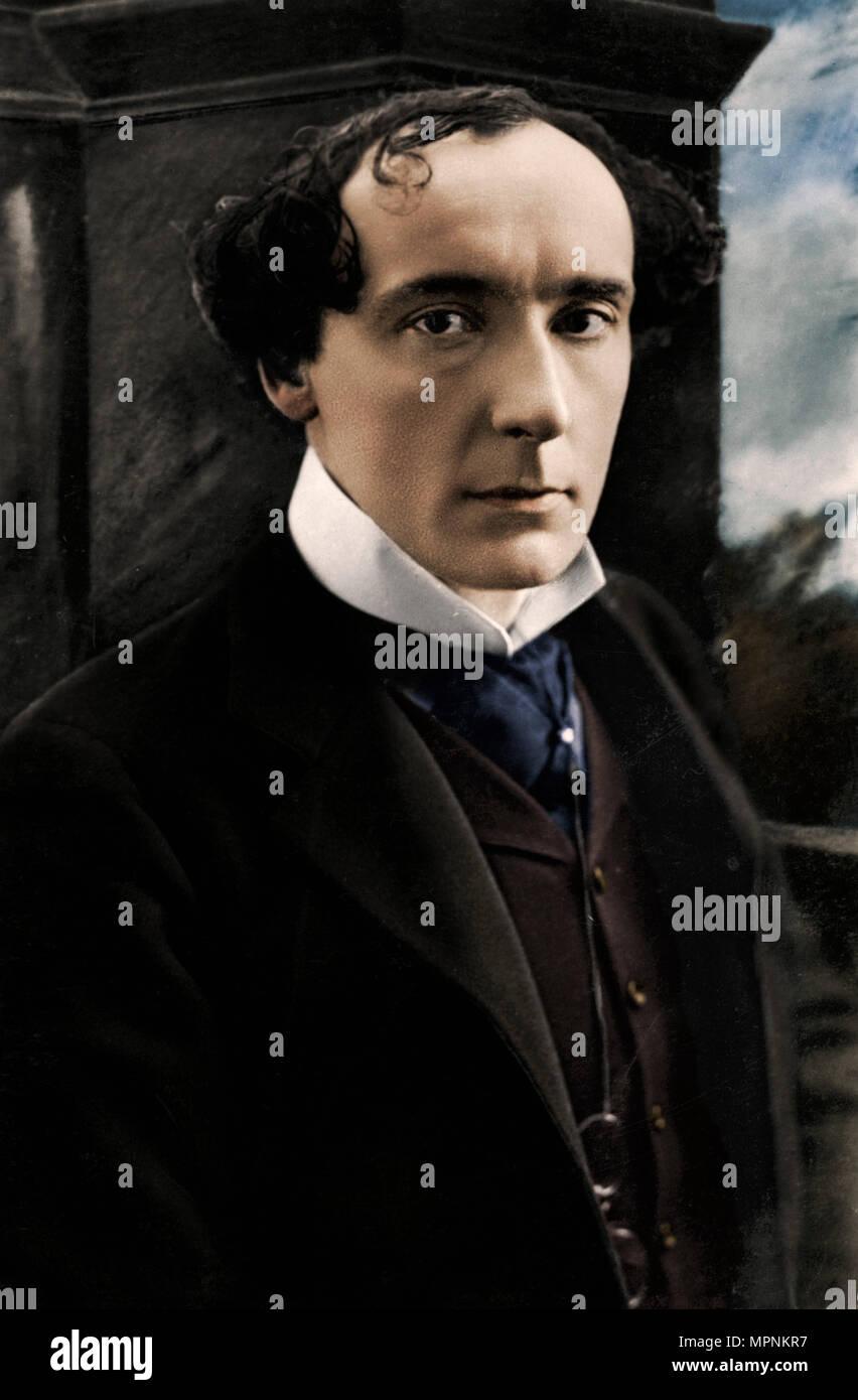 Harry Brodribb Irving (1870-1919), English actor, early 20th century. Artist: Vandyk. - Stock Image