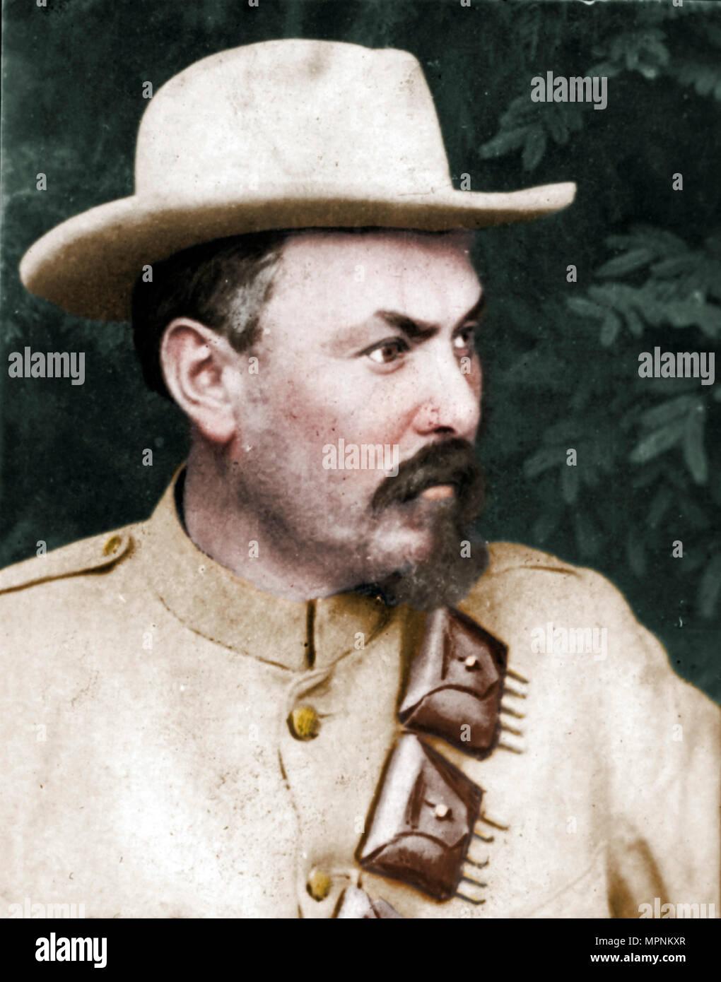 'General Louis Botha', (1862-1919), Afrikaner soldier and statesman, 1894-1907. Artist: Unknown. - Stock Image