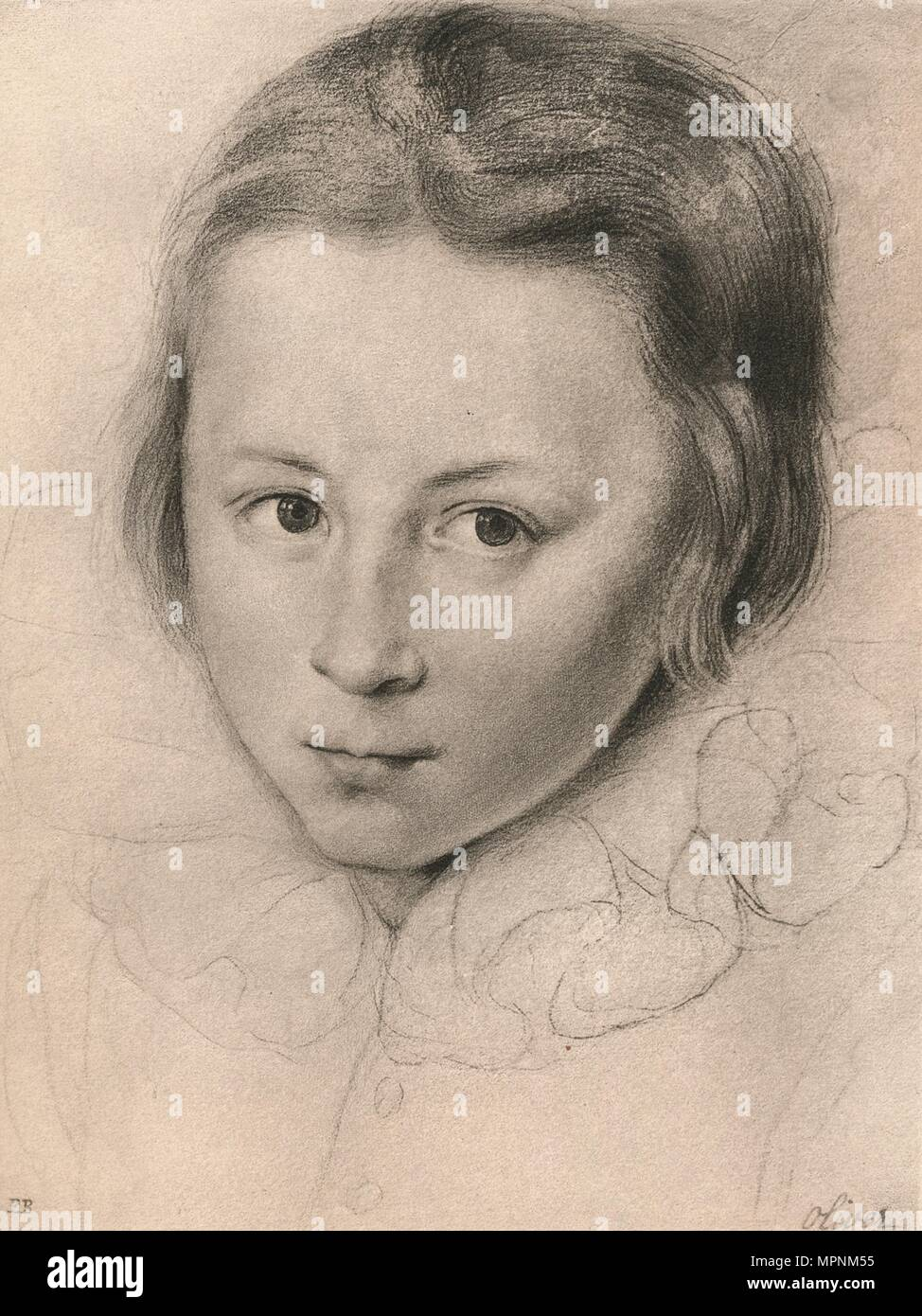 'Henry, Prince of Wales', c16th century, (1904). Artist: Isaac Oliver I. - Stock Image