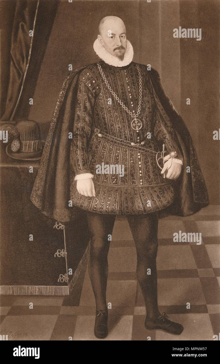 'Count Gondomar', c16th century (1904). Artist: Unknown. - Stock Image