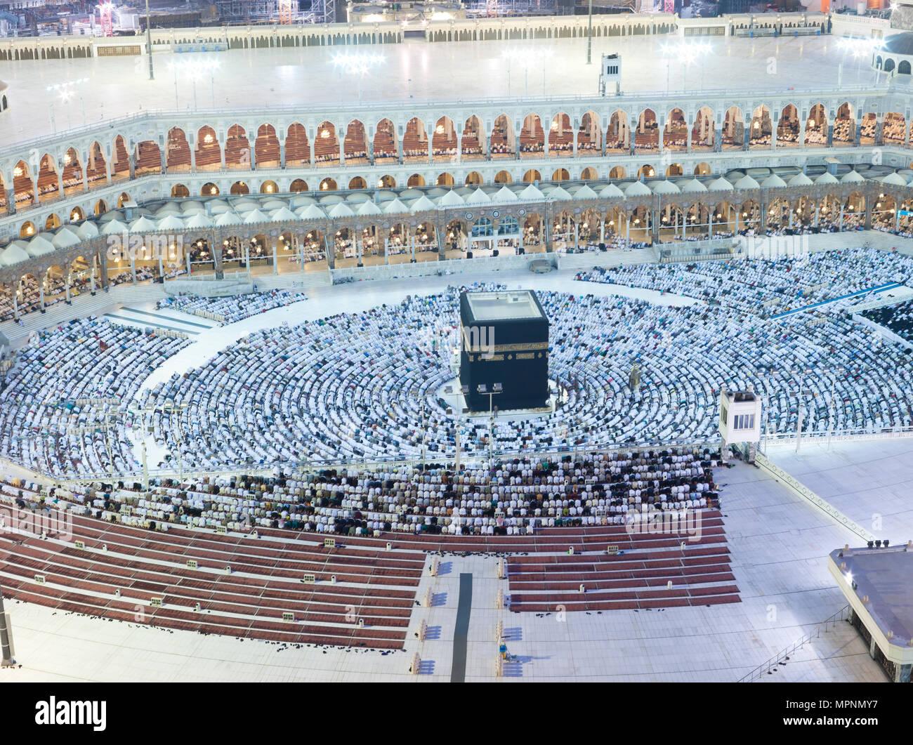Kaaba Saudi Arabia Pray Stock Photos & Kaaba Saudi Arabia