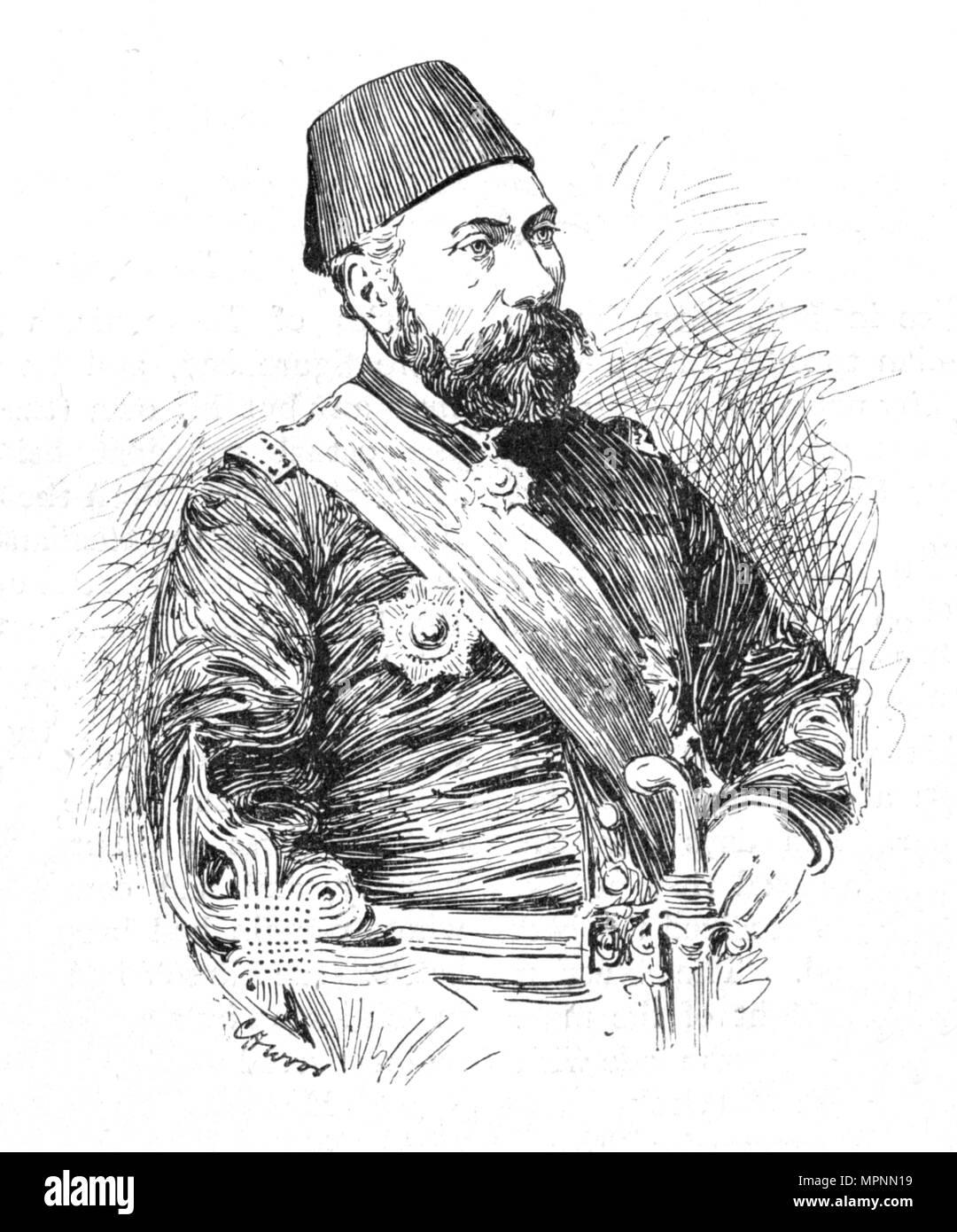 'Osman Pasha', 1902. Artist: Charles Haigh Wood. Stock Photo