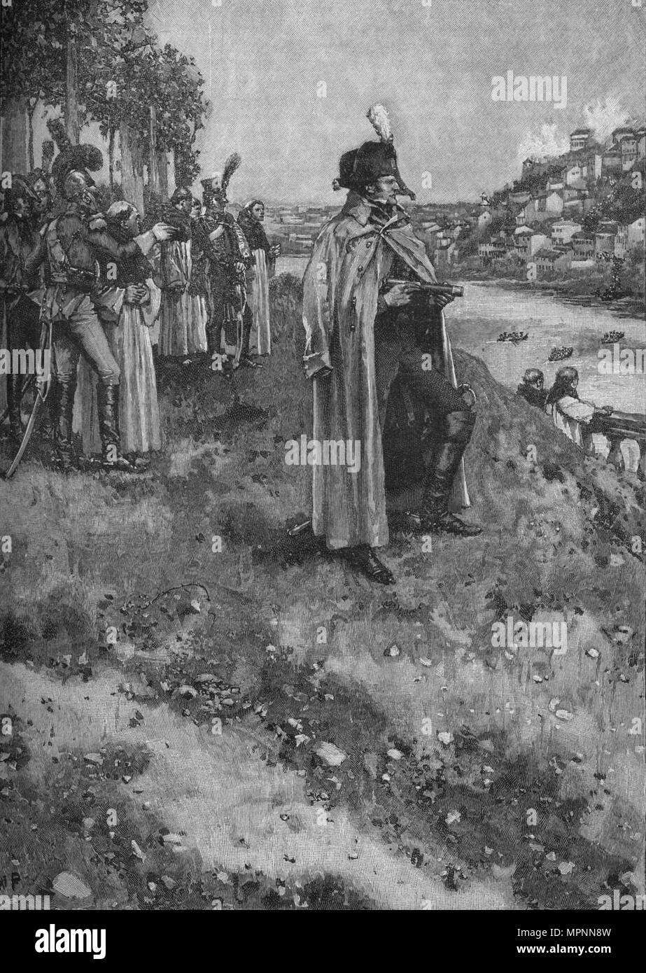 'The Passage of the Douro', 1902. Artist: WP. - Stock Image
