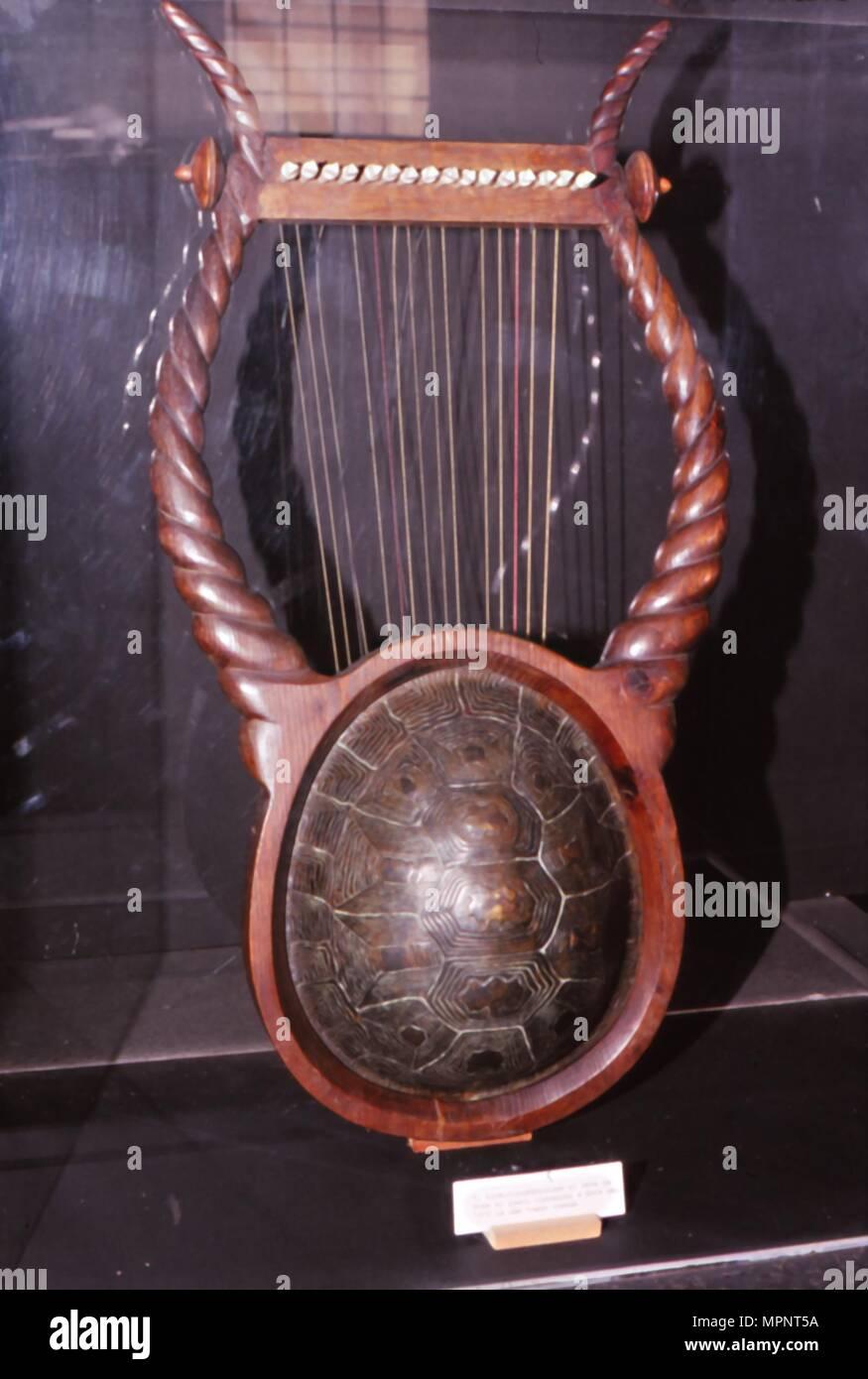 Tortoise Shell Lyre
