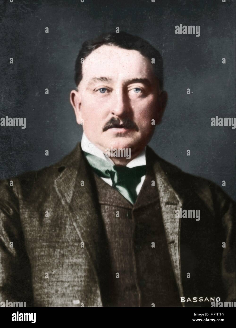 'Cecil Rhodes', (1853-1902), English-born South African entrepreneur and statesman, 1894-1907. Artist: Alexander Bassano. - Stock Image