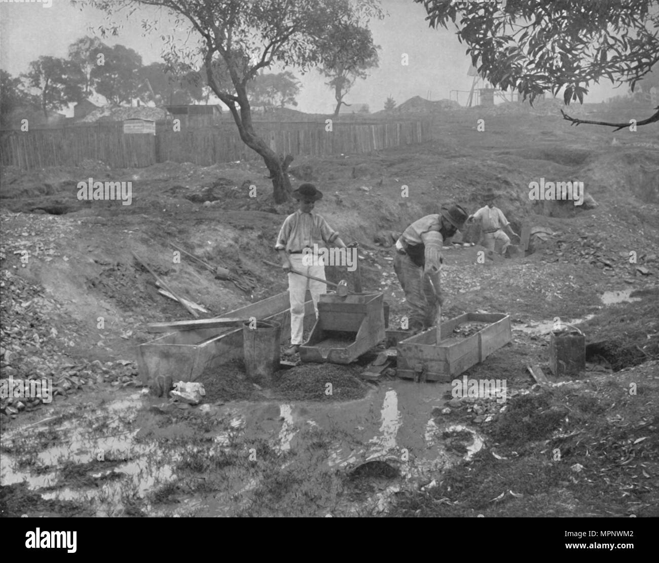 Panning Gold Black And White Stock Photos Amp Images Alamy