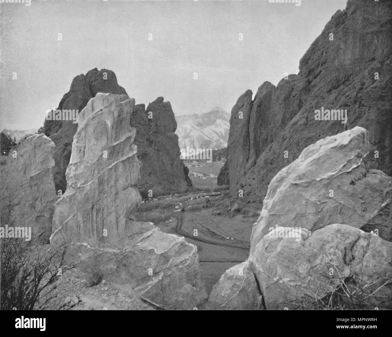 'The Garden of the Gods', 19th century. Artist: Unknown. - Stock Image