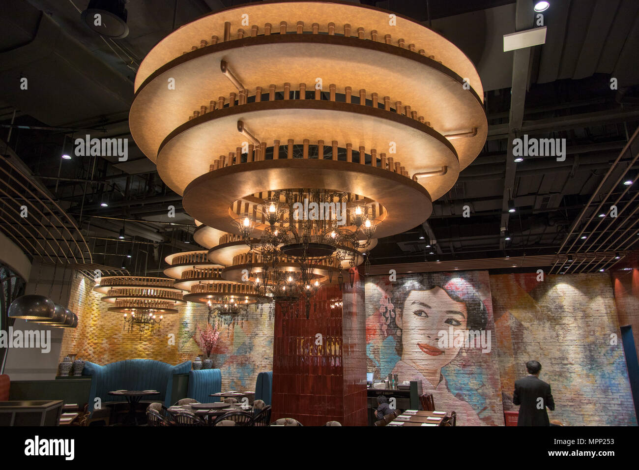 China Shanghai 24th May 2018 P F Chang S Bistro Opens In Is An Asian Themed Us