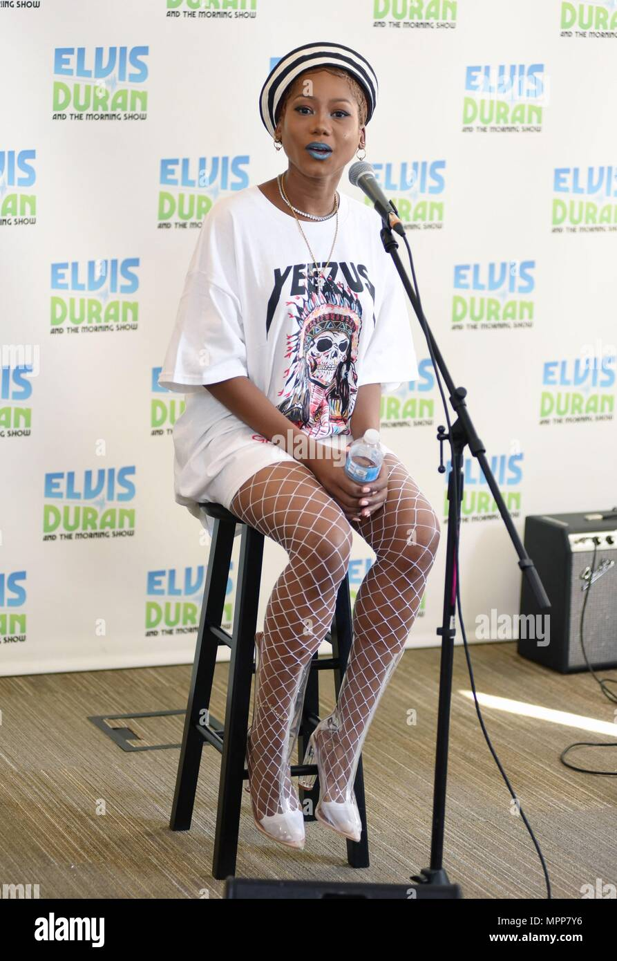 Elvis Duran And The Morning Show On Z 100 Stock Photos