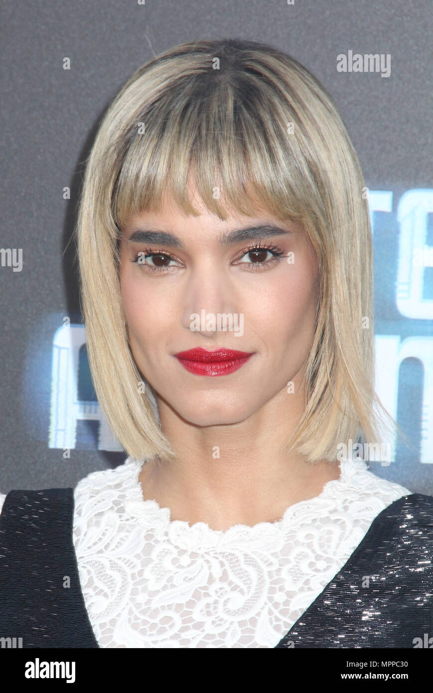 Sofia Boutella 05 19 2018 The Los Angeles Premiere Of Hotel Artemis Held At Regency Bruin Theatre In CA Photo Cronos Hollywood News