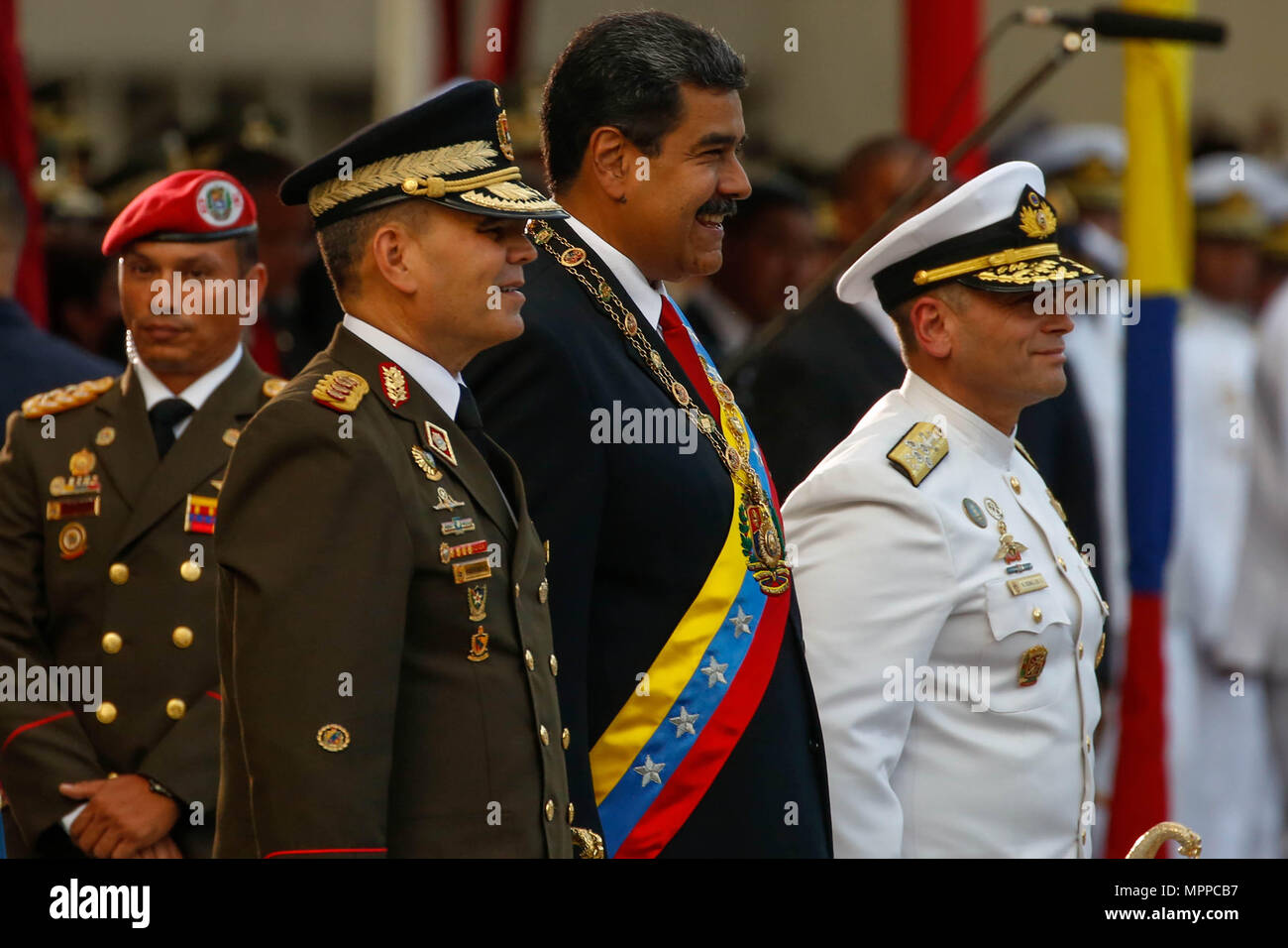 Caracas, Venezuela  24th May, 2018  Veenzuelan re-elect