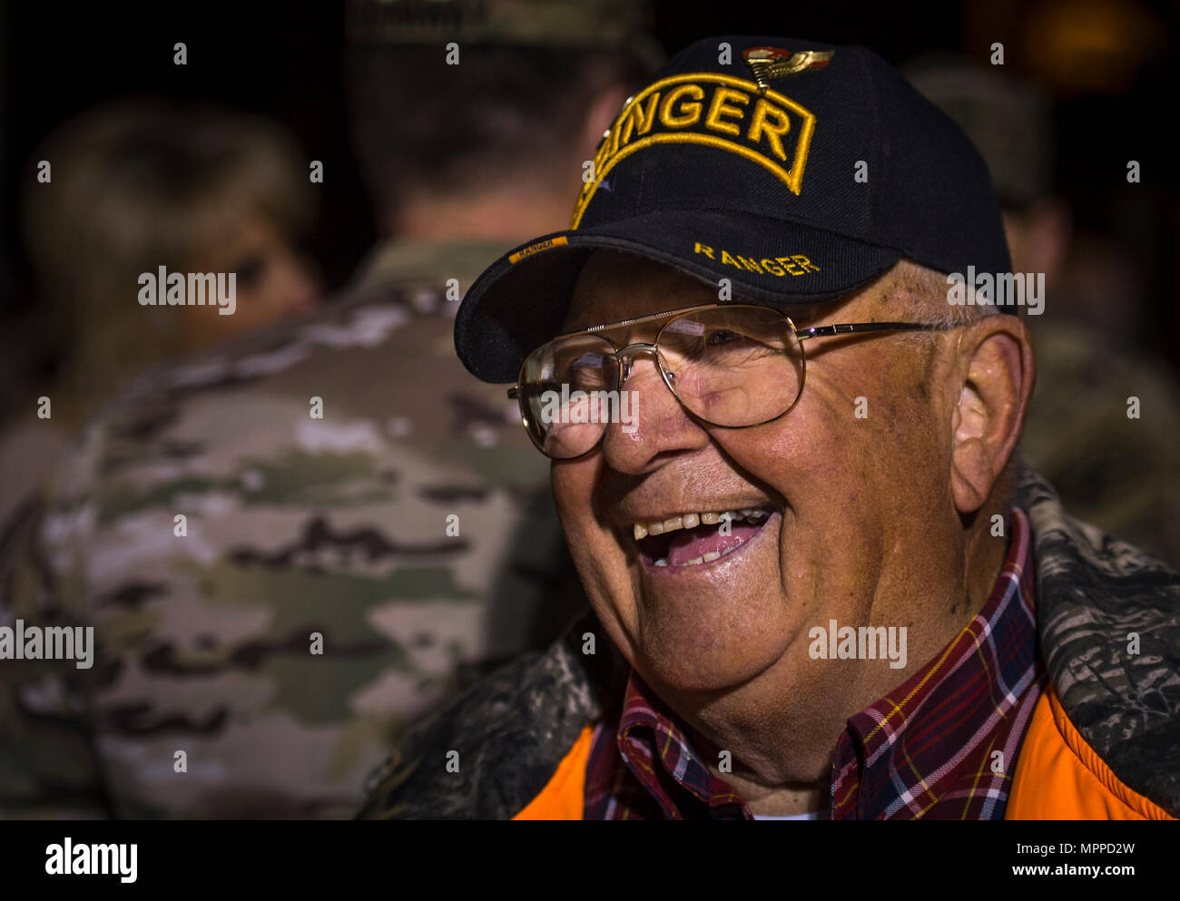 Bill Spies, a U S  Army veteran and Ranger Hall of Fame