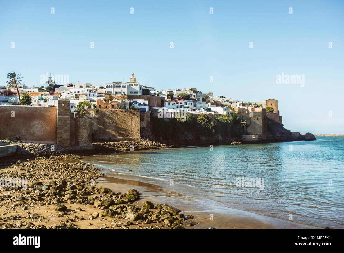 Morocco, Rabat, view to Kasbah - Stock Image