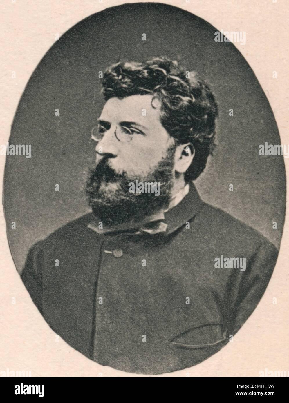 'Bizet.', 1875, (1895). Artist: Unknown. - Stock Image