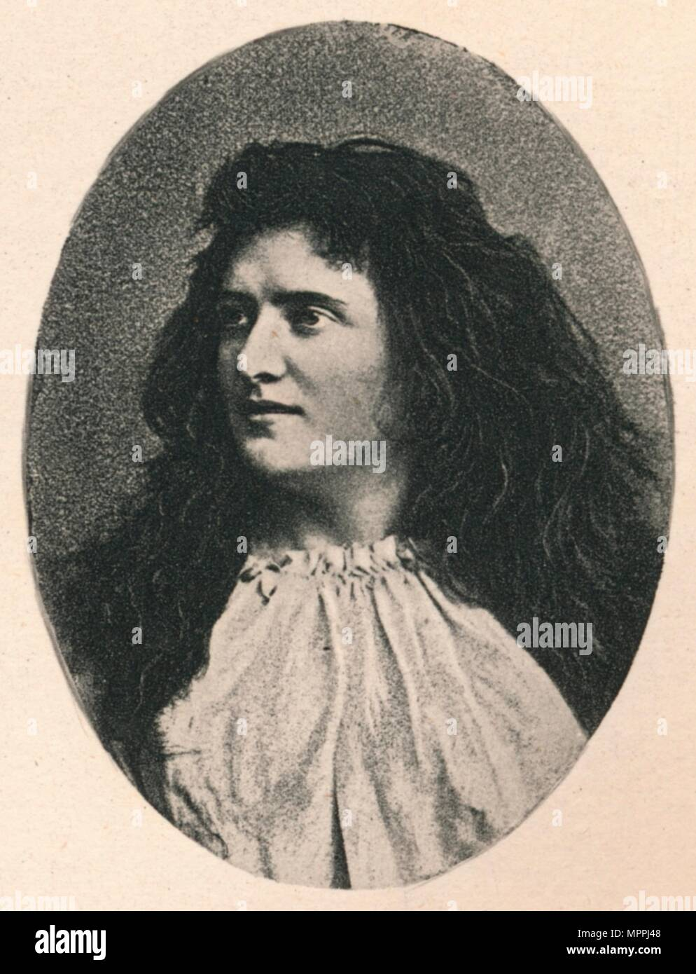 'Fanny Moody', c1890, (1895). Artist: F Jenkins Heliog. - Stock Image