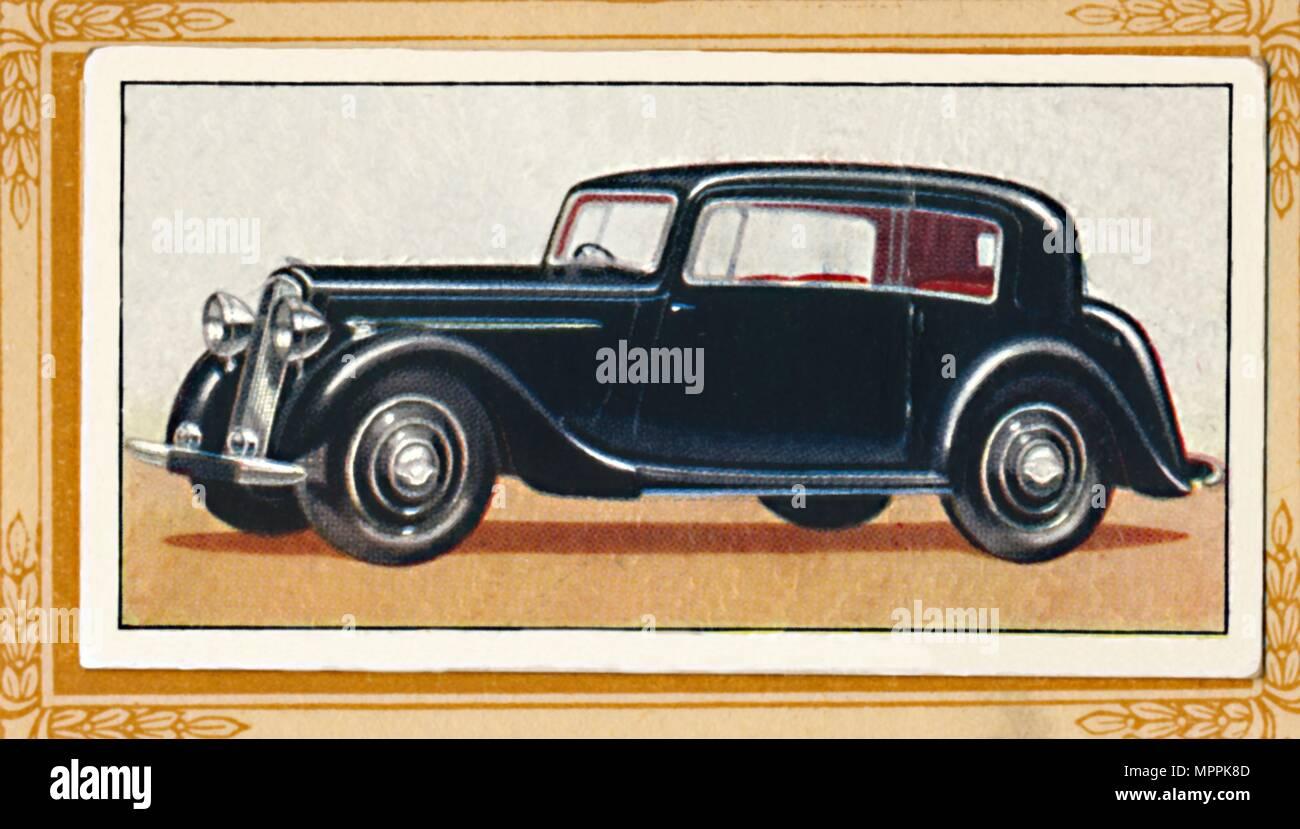 'Humber Twelve Vogue Saloon', c1936. Artist: Unknown. - Stock Image