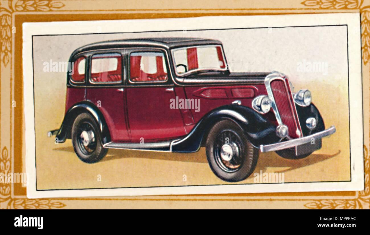 'Standard 12 Saloon', c1936. Artist: Unknown. - Stock Image