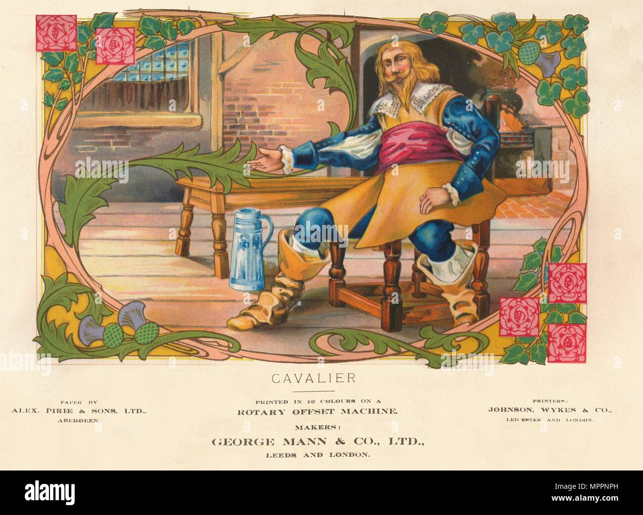 'Cavalier', 1910. Artist: George Mann & Co. - Stock Image